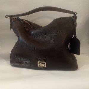 Dooney and Bourke Pebble Grain Leather Hobo purse